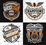 Sports insignia emblem set Stock Photography