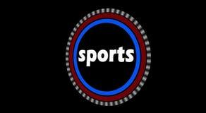 Sports Intro Animation stock footage