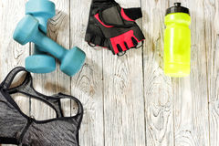Sports items. stock images