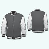 Sports or varsity jacket Royalty Free Stock Photo