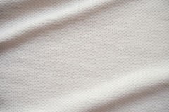 Sports jersey fabric texture background. White sports jersey fabric texture background Stock Photos