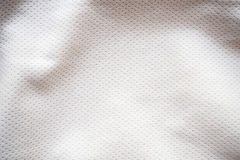 Sports jersey fabric texture background. White sports jersey fabric texture background Royalty Free Stock Photos