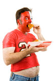 Sports and Junk Food Stock Image