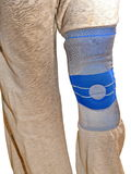 Sports knee brace Stock Photo