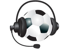 Sports Kopfhörer Stockbild