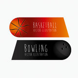 Sports labels, Stock Image