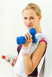 Sports lady Stock Photography