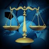 Sports Law royalty free illustration