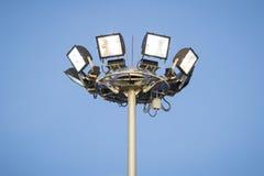 Sports lighting Stock Photo