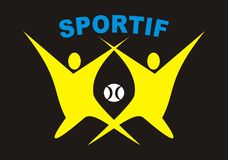 Sports logo Stock Photography