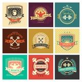 Sports logo vector illustration