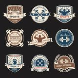 Sports logo Royalty Free Stock Image