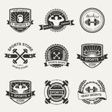 Sports logo Stock Photos