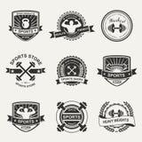 Sports logo stock illustration