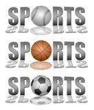 Sports logos Stock Photos