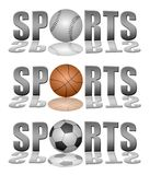 Sports logos Stock Photos