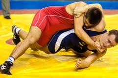 Sports luttant Photographie stock libre de droits