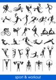 Sports man symbols Stock Photo