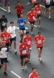 Sports marathon in Barcelona Royalty Free Stock Photos