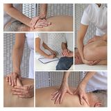Sports Massage Therapy Techniques Royalty Free Stock Photo