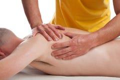 Sports masseur Royalty Free Stock Photos