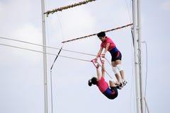 Sports meet,swing games Royalty Free Stock Photo