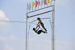 Sports meet,swing games Stock Photo