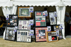 Sports Memorabilia Stock Photo