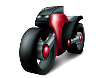 Sports Motorcycle Concept. Sports red and black Motorcycle Concept - EPS10 available Stock Photos