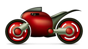 Sports Motorcycle Concept. Sports red and black Motorcycle Concept - EPS10 available Stock Photo