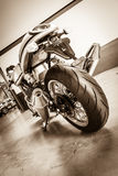 Sports motorcycle Norton Commando 961 Cafe Racer Stock Image
