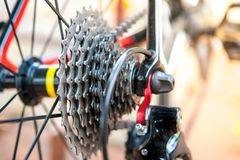 Sports mountain bike Royalty Free Stock Photo
