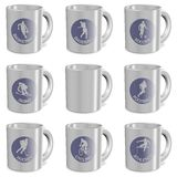 Sports mugs Stock Photo