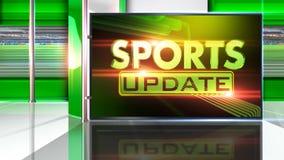 Sports news background