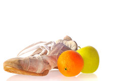Sports and nutrition. Royalty Free Stock Photo