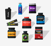 Sports nutrition Royalty Free Stock Photography