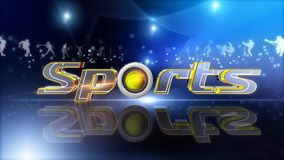 Sports opener background