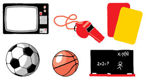 Sports pack 01 Royalty Free Stock Photography