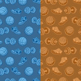 Sports pattern Stock Photos