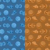 Sports pattern Stock Photos