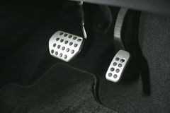 Sports pedals Royalty Free Stock Image