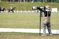 Sports Photographer Royalty Free Stock Photos