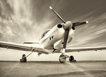 Sports plane Royalty Free Stock Images