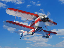 Sports plane Royalty Free Stock Photography