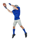 Sports player catching ball Stock Image