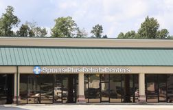 Sports Plus Rehab Centers, Jackson, TN Stock Images