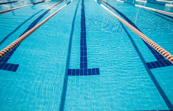 Sports pool for active sports Stock Photo