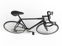 Sports race bicycle - top view Royalty Free Stock Photos