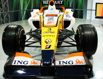 Sports Racing Car. Auto Expo new Delhi 2008 had show latest development in Automobile Industries Stock Photos
