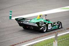 Sports Racing Car made by Jorg Obermoser Stock Photo